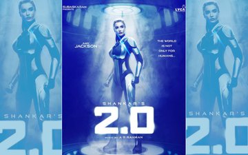 FIRST LOOK: Amy Jackson Is Stunning & Sexy As A Robot In Rajinikanth-Akshay Kumar Starrer 2.0