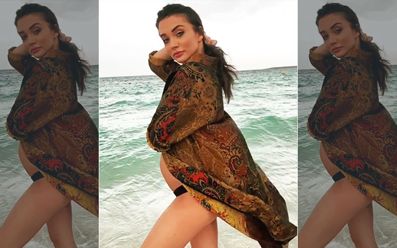 Amy Jackson Flaunts Her Baby Bump Yet Again And The Video Is Too Adorable To Be Missed