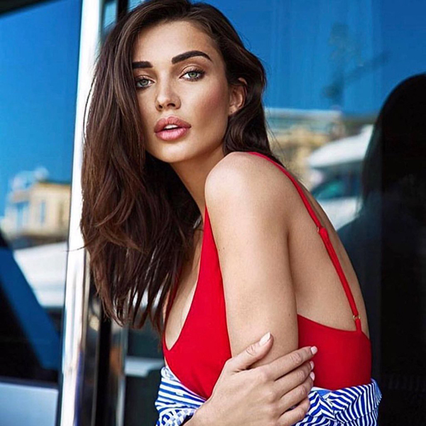 amy jackson looks glamorous in a photo shoot