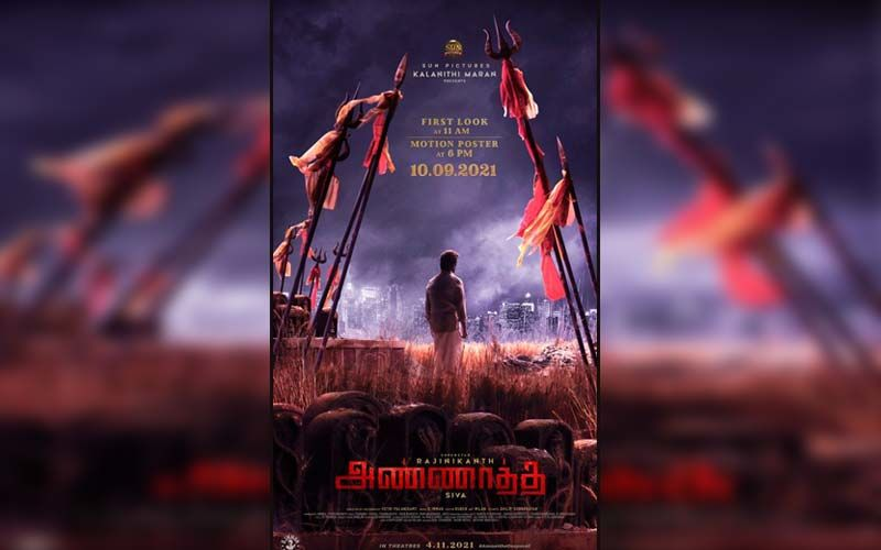 Annaatthe: First Look Of Rajinikanth Starrer Blockbuster To Release On Ganesh Chaturthi