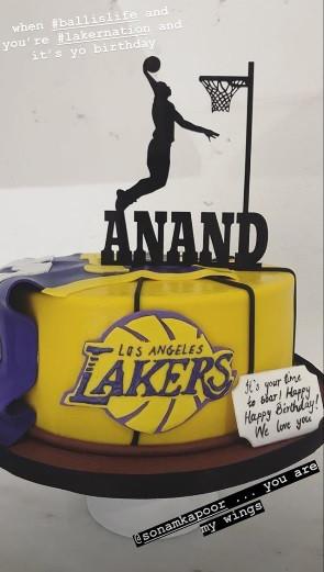 anand ahuja birthday cake