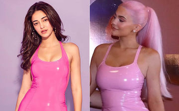 Fashion Face-Off: Ananya Panday Or Kylie Jenner – Who Rocked The Bubblegum Pink Latex Dress Like A Pro?