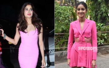Janhvi Kapoor And Ananya Panday Show Us How To Perfectly Rock The Little Pink Dress