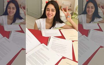 Ananya Panday Hasn't Faked Her USC Admission; Actress Posts Proof On Social Media