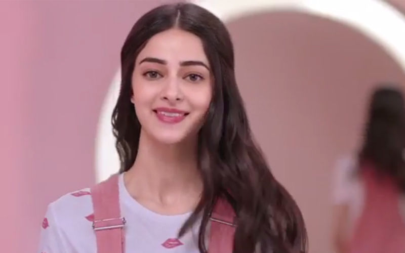 Ananya Panday Jumps With Glee, Here's Why