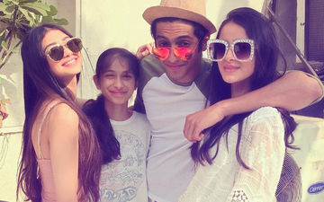 Candid Clicks Of Ananya Panday's Brunch With Ahaan & Alanna
