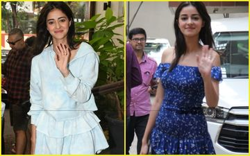 Ananya Panday Is Thrilled To Be 'Frill'ed: Plain Or Prints-What's Your Pick?