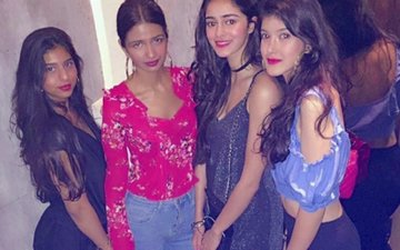 INSIDE PIC: Ananya Pandey Celebrates Her 19TH Birthday With Besties Suhana Khan & Shanaya Kapoor