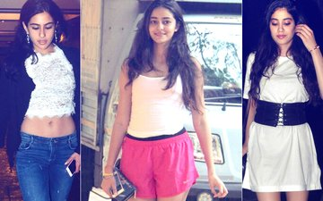 Unlike Sara Ali Khan & Jhanvi Kapoor, Ananya Pandey DOES NOT SHY Away From Paparazzi?