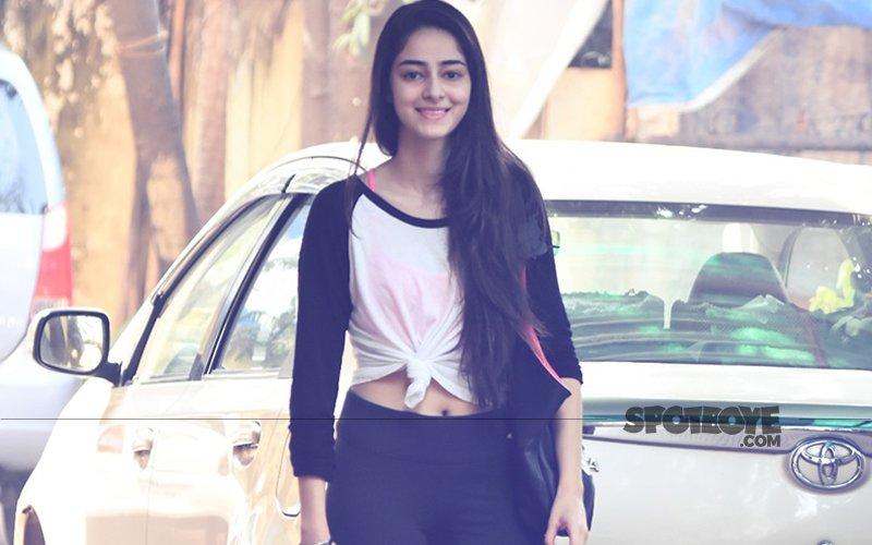 Ananya Pandey Joins Sara Ali Khan & Janhvi Kapoor's 'Gym' Bandwagon