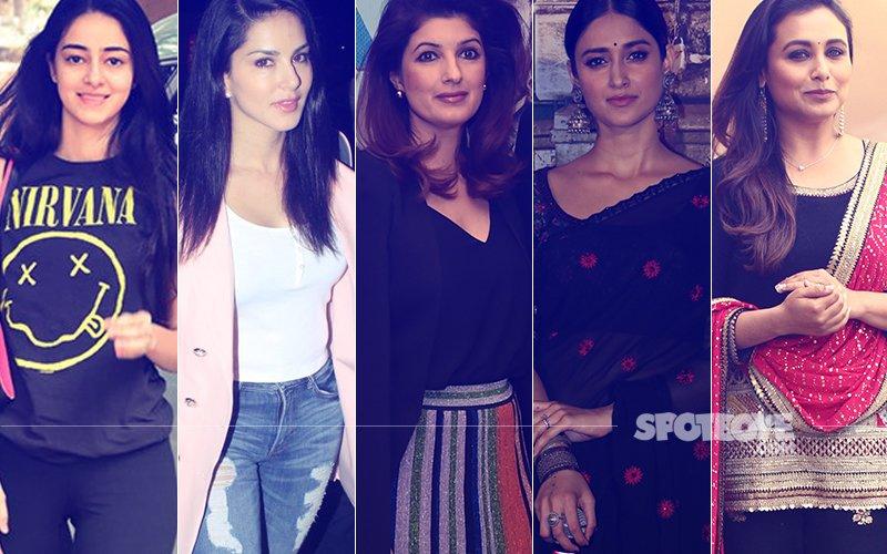 STUNNER OR BUMMER: Ananya Pandey, Sunny Leone, Twinkle Khanna, Ileana D'Cruz Or Rani Mukerji?