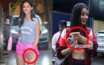 Ananya Panday Flaunts Her Sparkling Diamond Ring Post Her Dance Rehearsals