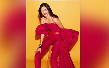 Ananya Panday's Wardrobe Has A Lot Of Bright Colours, Shimmer And An Infectious Smile!
