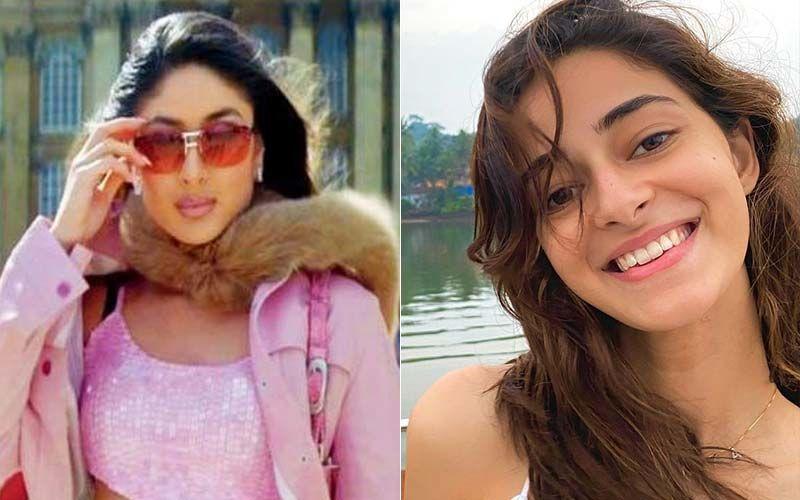Kareena Kapoor Khan Goes 'Oh My God' As Ananya Panday Reveals She Got Her K3G Character 'Poo' Printed Behind Her Jacket- VIDEO