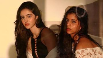 Ananya Panday Shares Glimpses Of Her Clever Photoshoot Edited By BFF Suhana Khan – PICS
