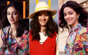 अनन्या पांडे ने ELLE मैगज़ीन के लिए करवाया पहला फोटोशूट, बेहद खुबसूरत लग रही है यह अभिनेत्री