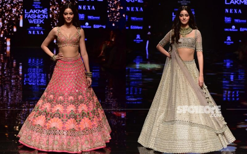 Lakme Fashion Week 2019: Ananya Panday Steals The Show As She Turns Showstopper For Anushree Reddy And Arpita Mehta