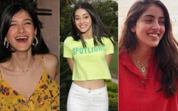 Bollywood BFFs Ananya Panday, Navya Naveli And Shanaya Kapoor Snapped Post Their Dinner Outing