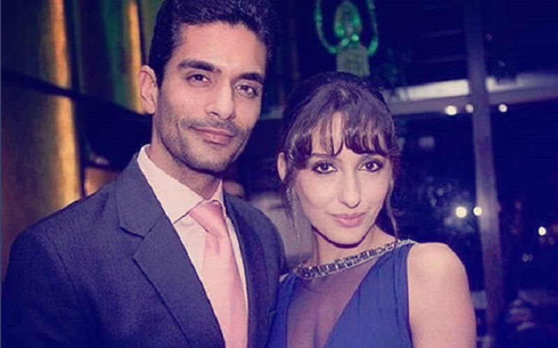 Angad Bedi's Ex-Girlfriend Nora Fatehi Looks Pretty As A Bride