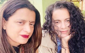 Kangana Ranaut, Sister Rangoli Chandel Head Out To Meet Maharashtra Governor Amid Protests Outside Her House