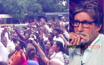 Angry Industry Workers Land Up At Amitabh Bachchan's Jalsa