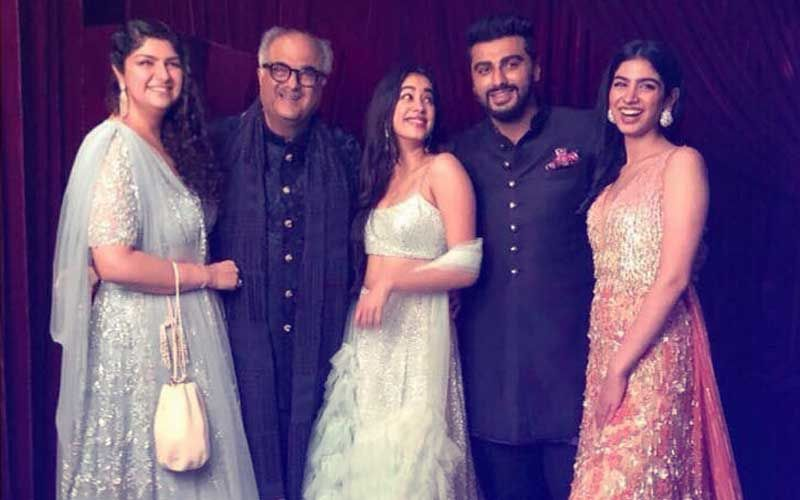 Who Is Boney Kapoor's Favourite Kid? Anshula Kapoor Reveals