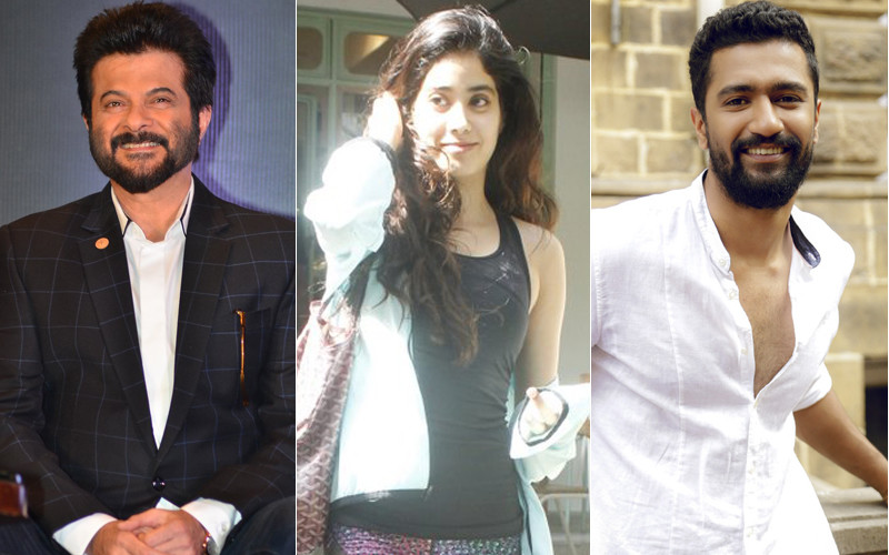 anil and janhvi kapoor and vicky kaushal