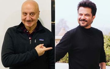 Coronavirus Outbreak: Ahead Of Janta Curfew 'Padosi' Anil Kapoor Stands Below Anupam Kher's Balcony To Chat -Watch Hilarious Video
