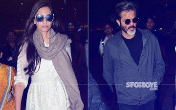 Anil & Sonam Kapoor Return From Dubai, Sridevi's Final Rites Tomorrow Morning