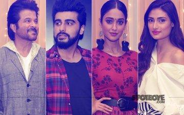 Anil Kapoor, Arjun Kapoor, Ileana D'Cruz & Athiya Shetty Promote Anees Bazmee's Mubarakan