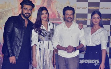 Anil Kapoor, Arjun Kapoor, Athiya Shetty & Ileana D'Cruz Have A Ball At Mubarakan's Trailer Launch