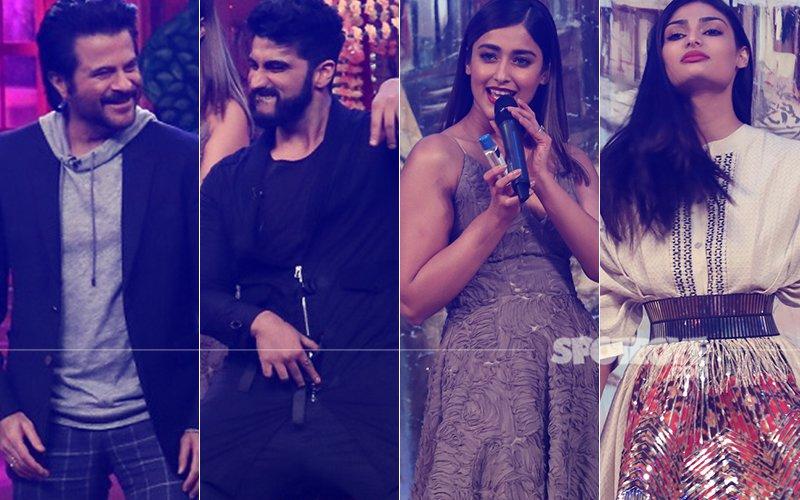 Anil Kapoor, Arjun Kapoor, Ileana D'Cruz, Athiya Shetty Have A Blast On-The-Sets Of The Drama Company