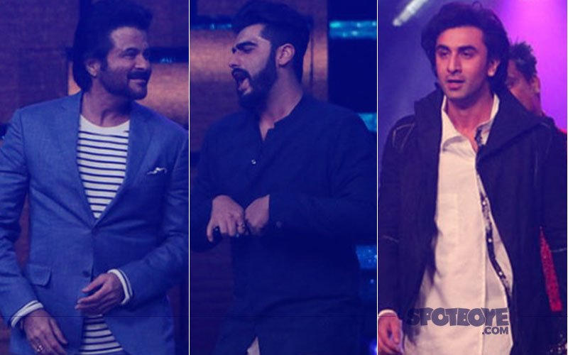 Team Mubarakan & Team Jagga Jasoos On-The-Sets Of Nach Baliye 8