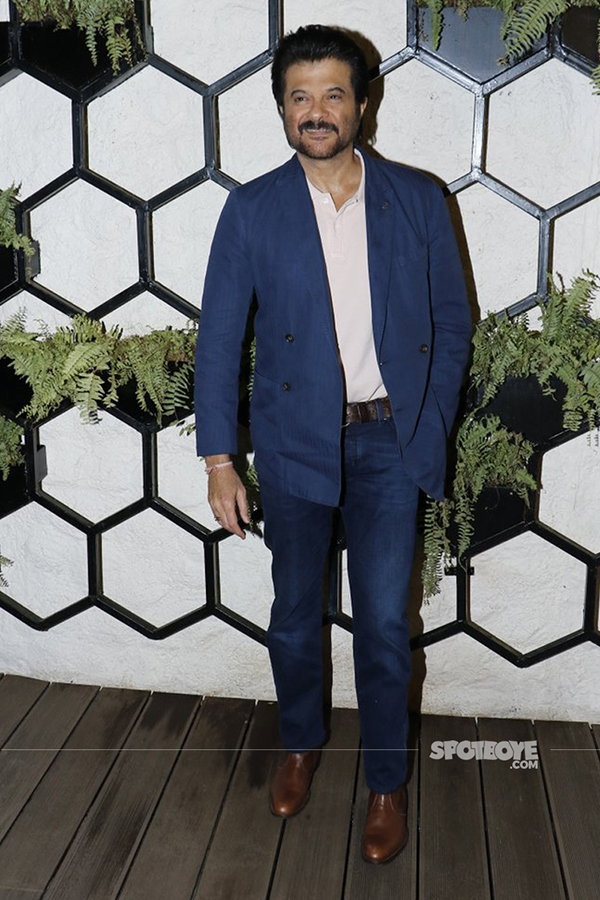 anil kapoor at arth lounge opening bash