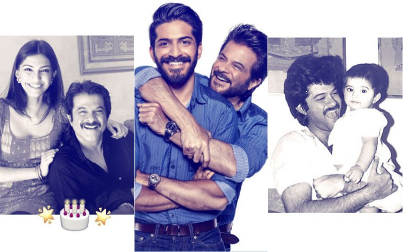 Sonam Kapoor & Harshvardhan Kapoor Share Throwback Pics With Papa Anil Kapoor On His 61st Birthday