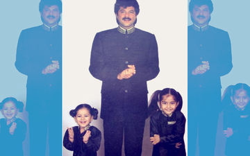 Sonam Kapoor Shares Throwback Picture With Dad-Sister & Anil Kapoor Has Something To Say