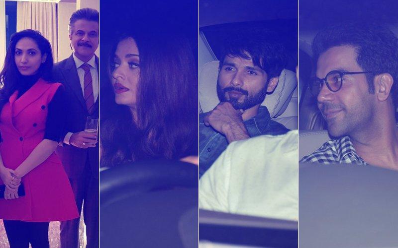 PICS: Anil Kapoor Wraps Up Fanne Khan; Celebrates With Aishwarya Rai, Shahid Kapoor, Rajkummar Rao & Prernaa Arora