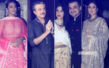 Here Are The Super Pictures From Anil & Sonam's Diwali Party