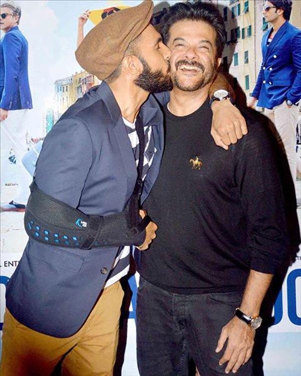 Anil Kapoor With Ranveer Singh