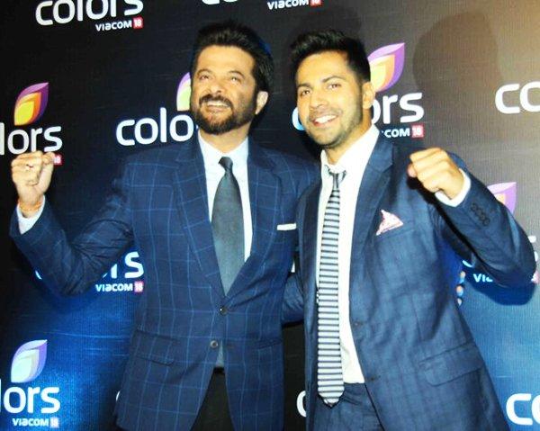 Anil Kapoor And Varun Dhavan