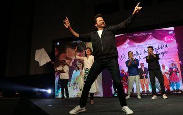 'एक लड़की को देखा तो ऐसा लगा' के गाने पर कॉलेज के छात्रों के साथ डांस करते नजर आये अनिल कपूर
