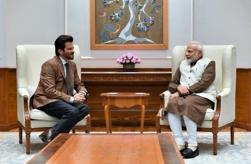 अनिल कपूर ने की प्रधानमंत्री नरेंद्र मोदी से मुलाकात, कहा- मैं उनसे प्रेरित हुआ