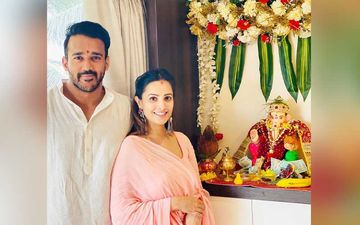 Anita Hassanandani-Rohit Reddy Share Video From Ganpati Celebration; Netizens Spot Baby Bump Ask Naagin 5 Actress If She's Pregnant