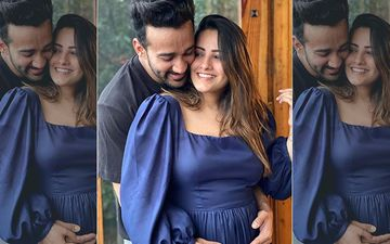 Preggers Anita Hassanandani Asks 'Where Is Our Baby Going To Sleep?'; Shares A Glimpse Of Hubby Rohit Reddy Sleeping Next To Their Dog