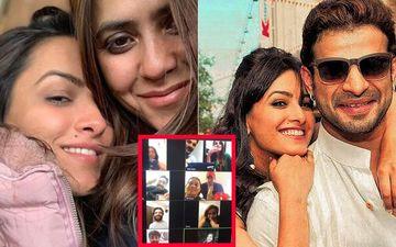 Ekta Kapoor Gets Karan Patel, Krystle D'Souza, Pearl V Puri On Video Call To Surprise Birthday Girl Anita Hassanandani; Says 'Tashu, I've Known You In A Life Before This One'