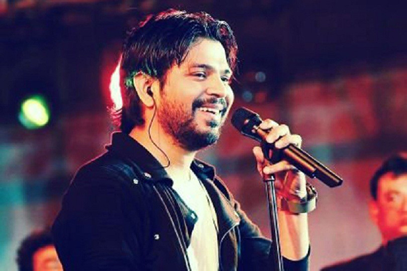 ankit tiwari at an event