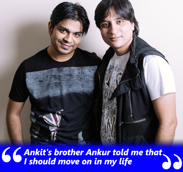 ankur tiwari told the victim that she should move on in life