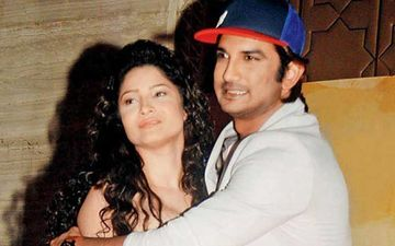 Post Sushant Singh Rajput's Death Former Girlfriend Ankita Lokhande Steps Out; Distributes Chocolates Among Needy People