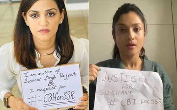 Sushant Singh Rajput 3-Month Death Anniversary: Sister Shweta Singh Kirti And Former GF Ankita Lokhande Pay Tribute; Pen Heartbreaking Note