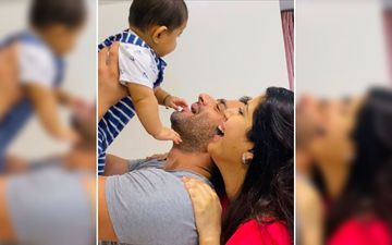 When Karan Patel Tried To Goofily Imitate His Pregnant Wife Ankita Bhargava In This Throwback Picture